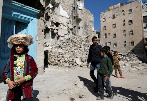 In east Aleppo, bodies still under rubble show limits of Syria's recovery