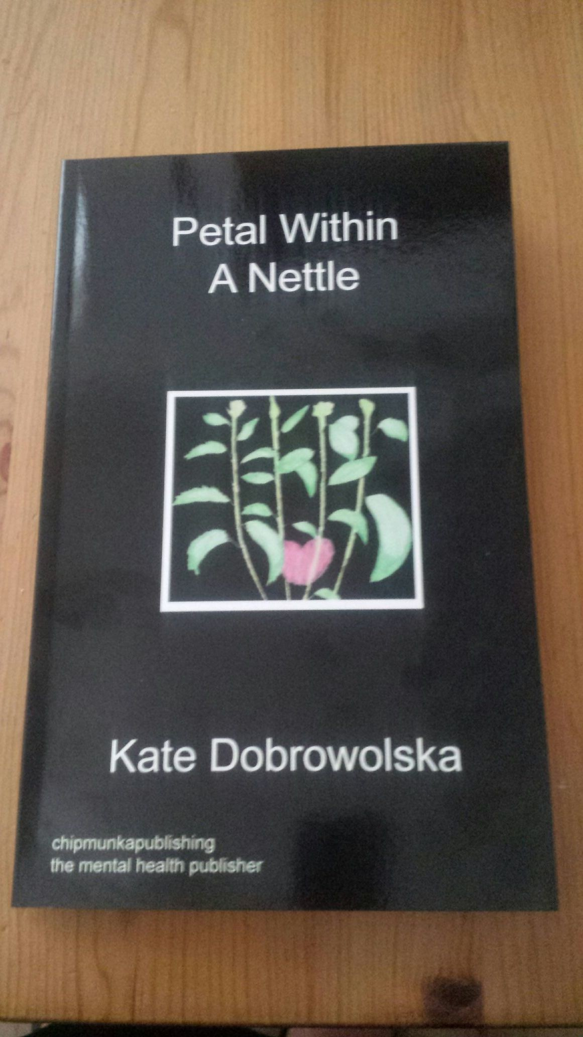 sequel to Petal Painted Black. Relationship issues Domestic abuse.Self help ideas