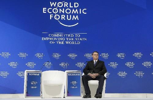 Brazil's nationalist leader to address Davos globalist crowd