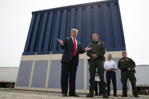 Border wall, bullet train: California vs. Trump escalates