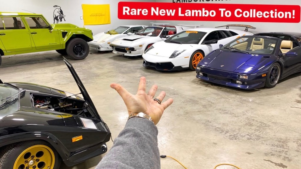 RYAN BOUGHT LAMBORGHINI'S RARE V8 SUPERCAR! NOT A URUS