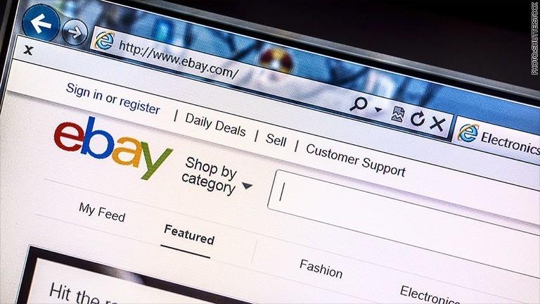EBay customers must reset passwords after major hack