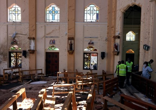 Sri Lanka to declare emergency from midnight after Easter Day blasts