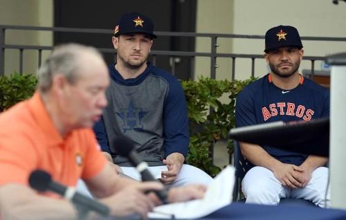 MLB notebook: Astros' Altuve, Bregman apologize