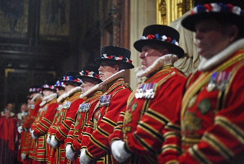 Royal Pomp: UK tradition on display for Parliament opening