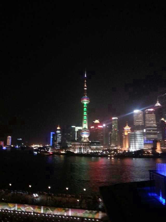 Shanghai pearl tower at night!!!