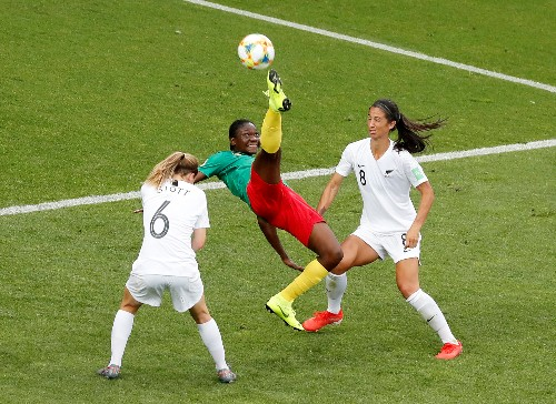 Nchout sends Cameroon through with last kick of game