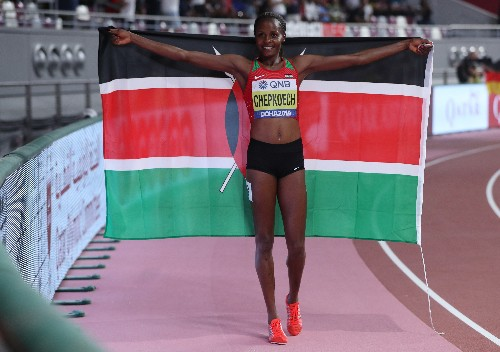 Kenya's Chepkoech eyes fast track to Olympic gold