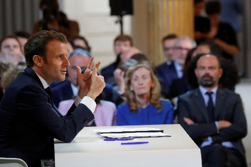 France's Macron offers tax cuts as part of moves to quell 'yellow vest' unrest