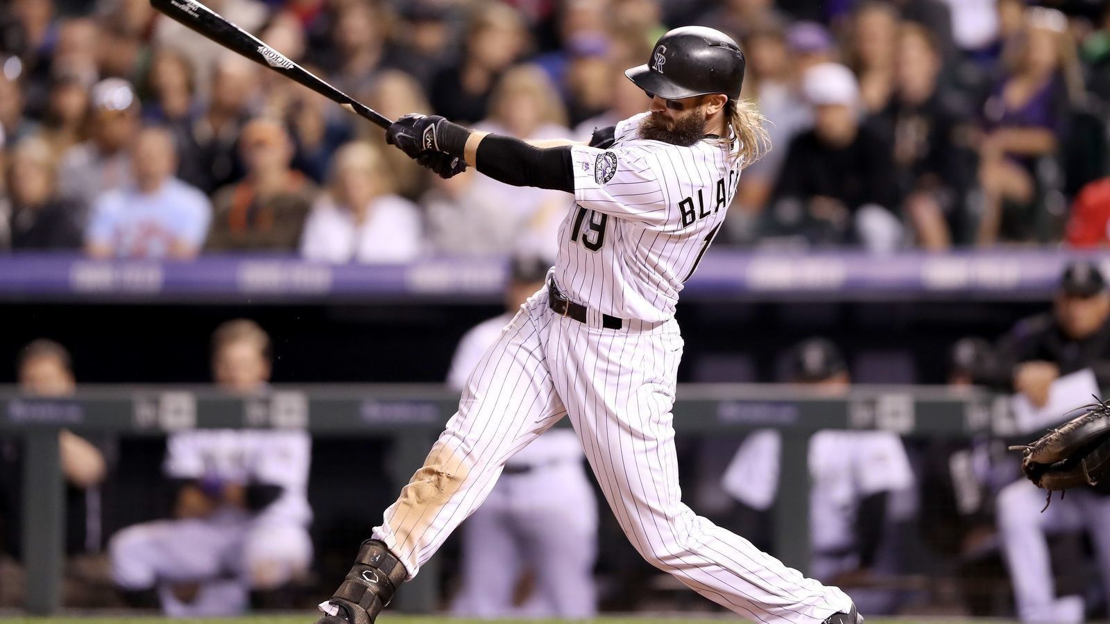Colorado Rockies' Charlie Blackmon is the best active center fielder