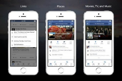 Facebook Launches Save, A Read-It-Later List For Links, Places, And Media Pages
