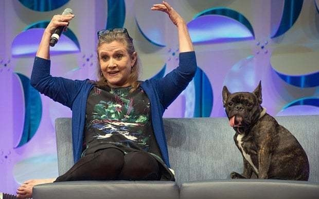 Carrie Fisher: 'I was quite the space slut'