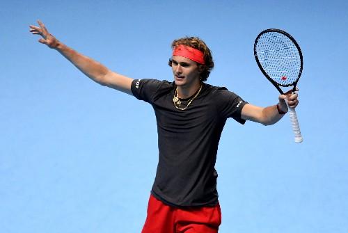 Zverev sets up tasty Federer clash at ATP Finals