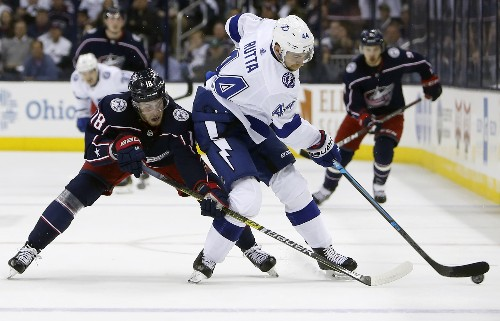 Sweep! NHL-best Lightning ousted in record speed by Columbus