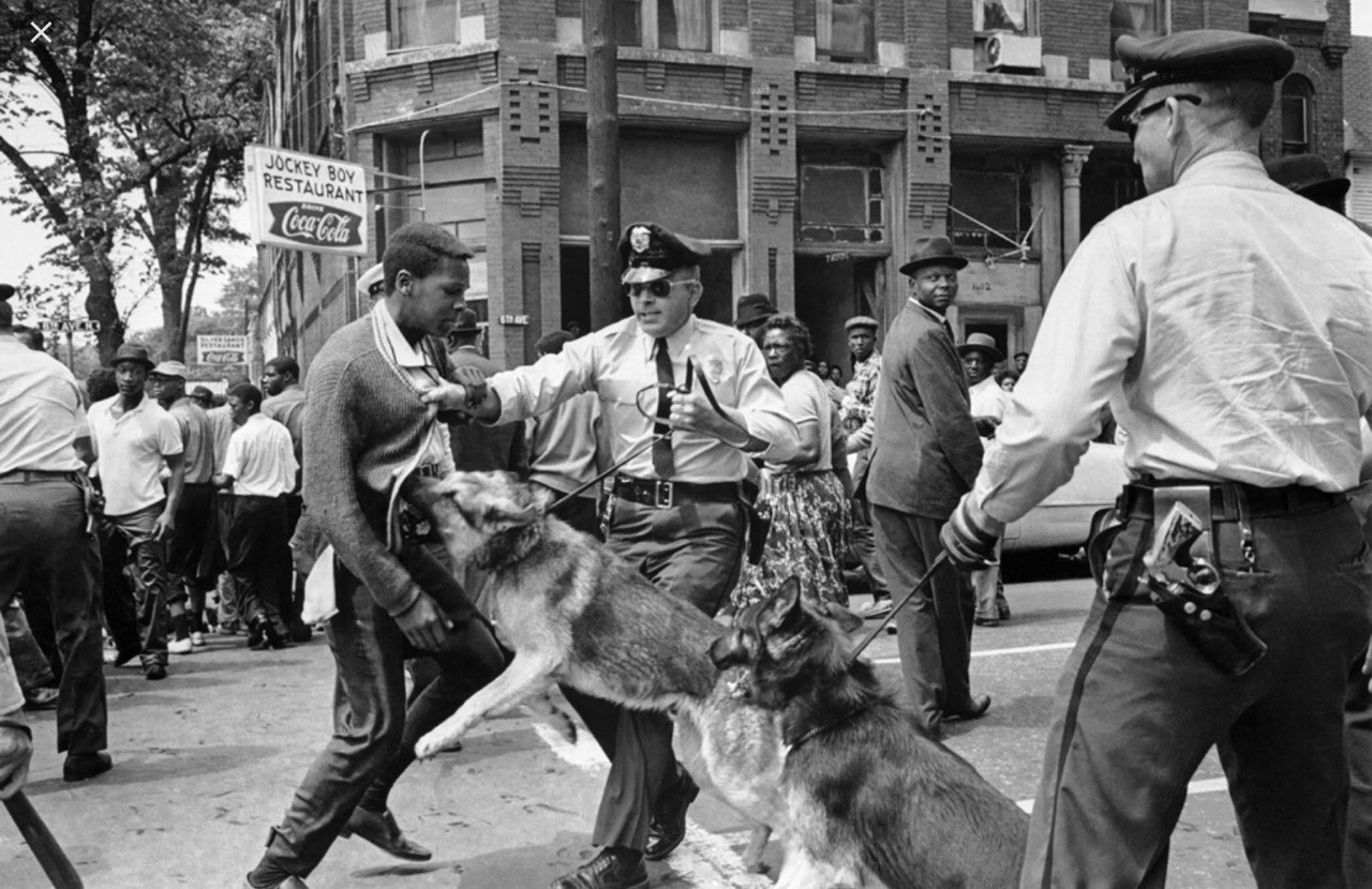 """""""Birmingham is probably the most throughly segregated city in the United States. Its ugly record of police🚔 brutality is known in every section of this country."""""""