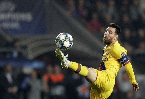 Lionel Messi and Liverpool shine in the Champions League