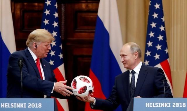 Shock as Trump backs Putin on election meddling at summit