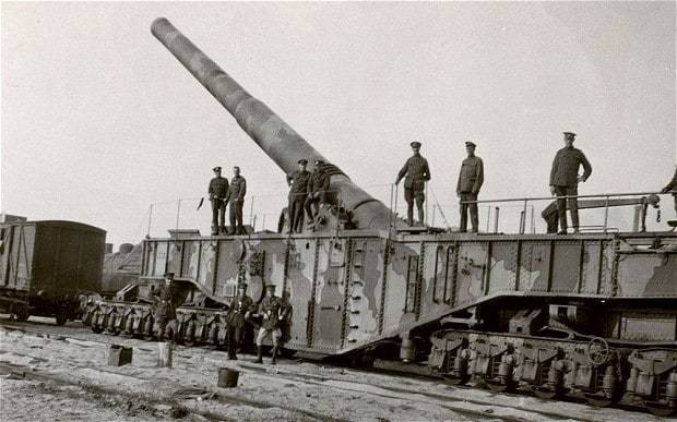 The trains that took us to war