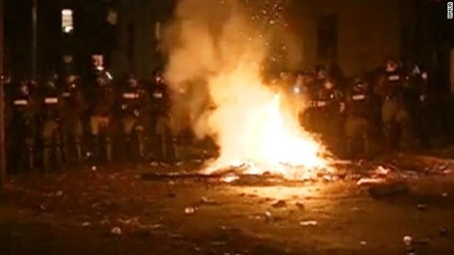 Pumpkin Festival crowd turns unruly