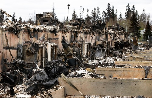 Devastation Left by Wildfires in Fort McMurray: Pictures