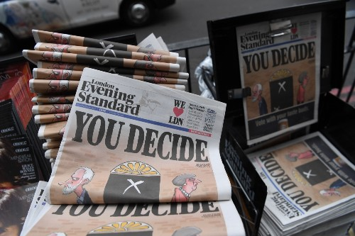British Voters Go to the Polls: Pictures