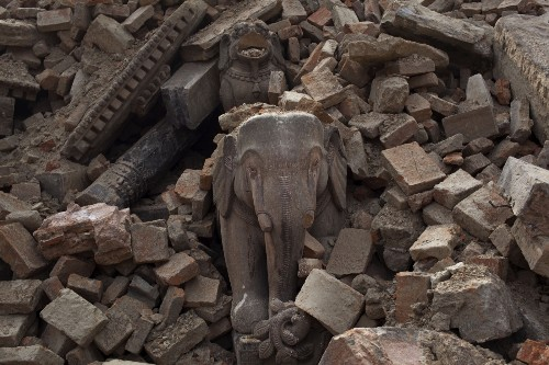 Nepal Continues to Dig Out: Pictures