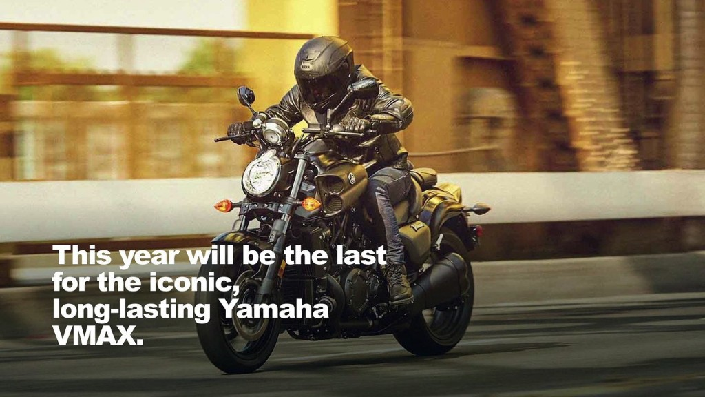 Yamaha Discontinues Iconic VMAX Power Cruiser