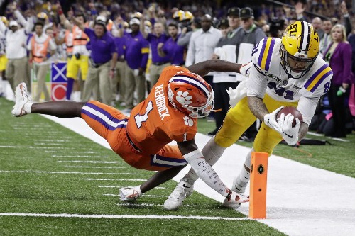 LSU Beats Clemson to Win National Championship: Pictures