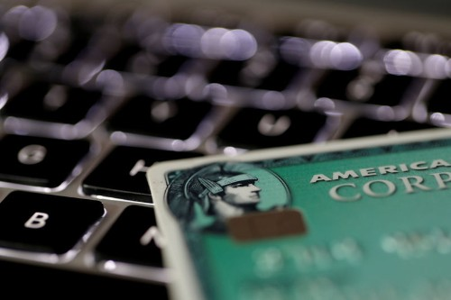 American Express misses estimates on slowing customer spending; shares drop