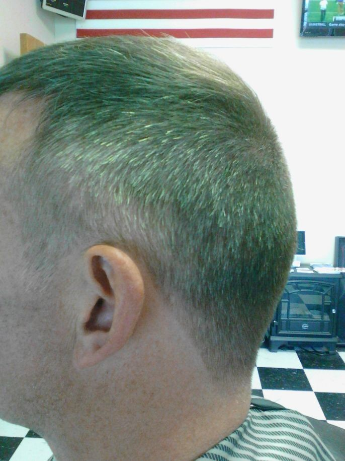 """Light taper! Not too close. Mostly described as """"2 on the sides and fade into the top with a 3,4!"""