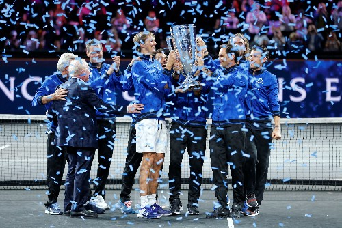 Tennis: Zverev completes Laver Cup win for Europe