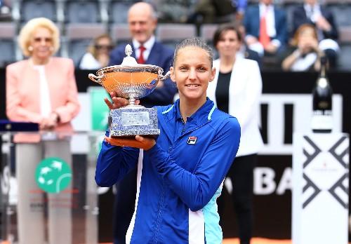 Tennis: Pliskova ends Konta run to win Italian Open