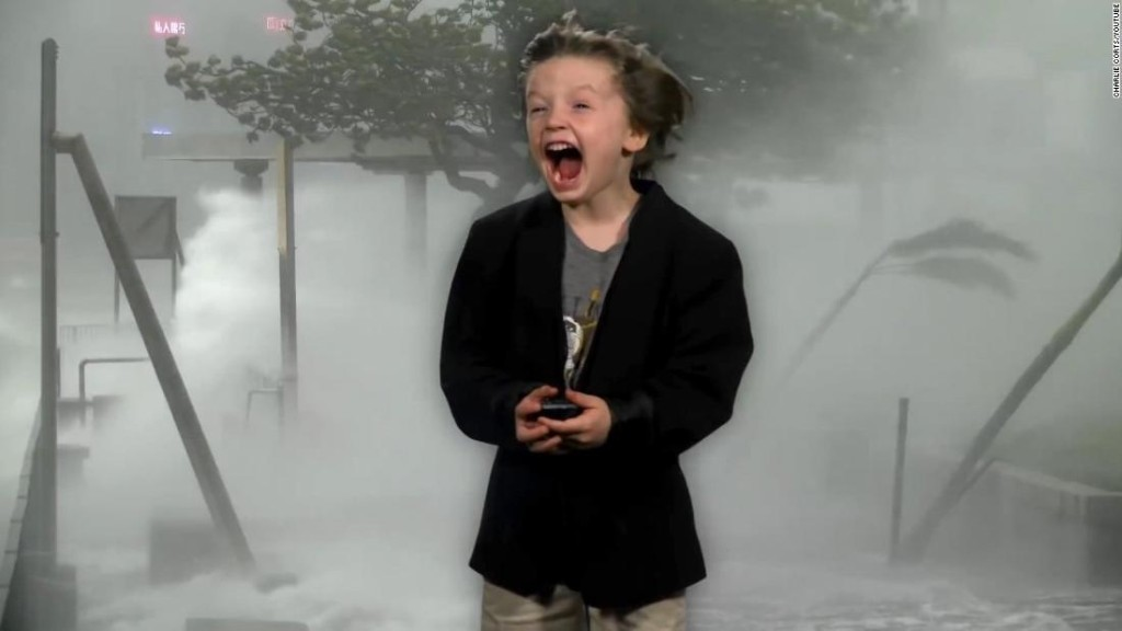 6-year-old's weather report goes viral