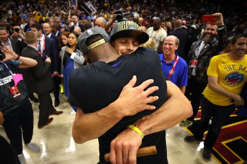 Warriors Sweep Away the Cavs to Win NBA Title: Pictures