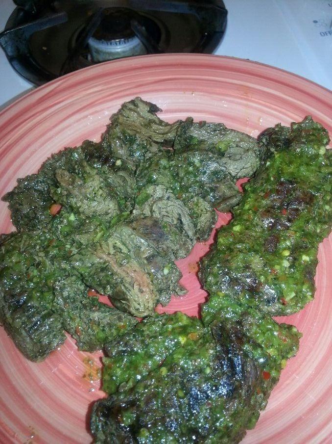 Chimichirre steak