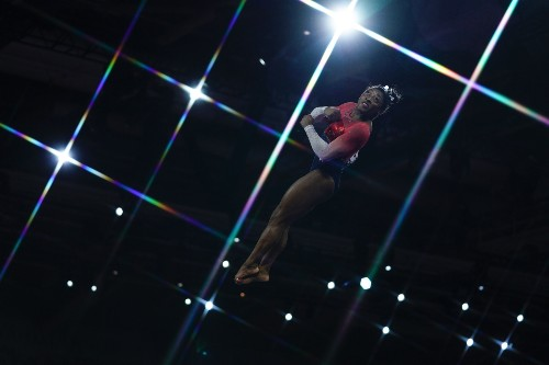 Simone Biles Leads U.S. to World Gymnastics Championship: Pictures
