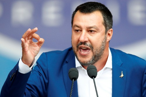 Italian police seize migrant boat, risking stand-off with deputy PM