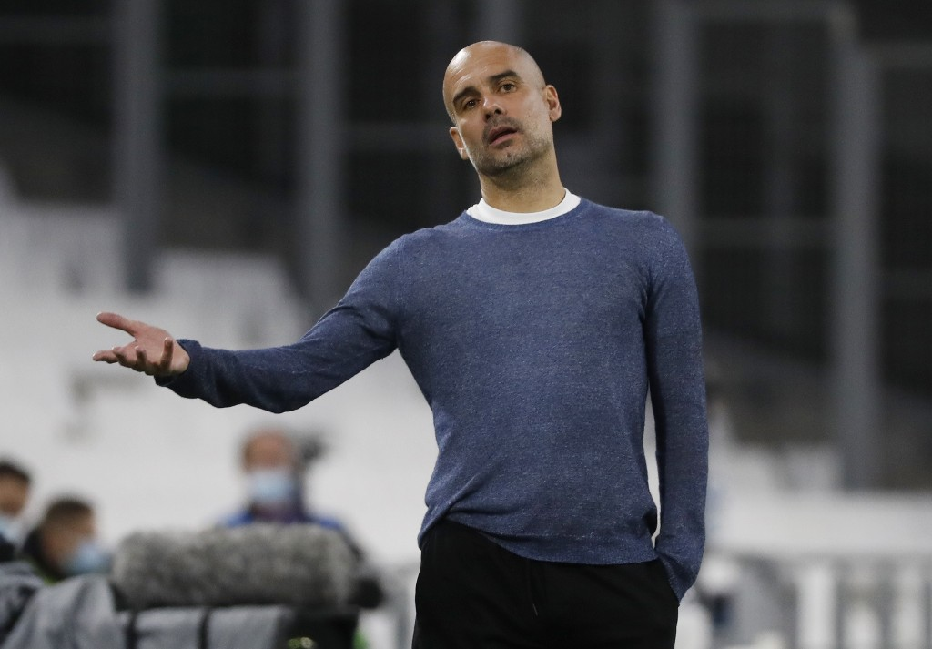 Guardiola 'happy' at Manchester City amid talk of return to Barcelona