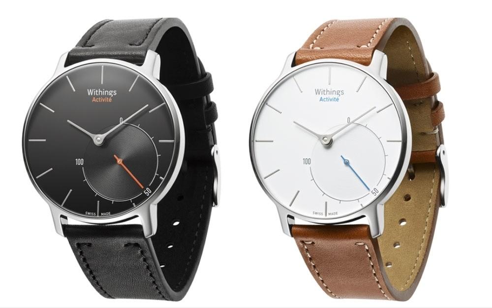 You can now buy a fitness tracker from Withings that's also a gorgeous $450 wristwatch