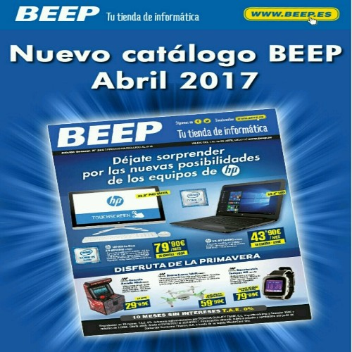Beep Republica Leon - Magazine cover
