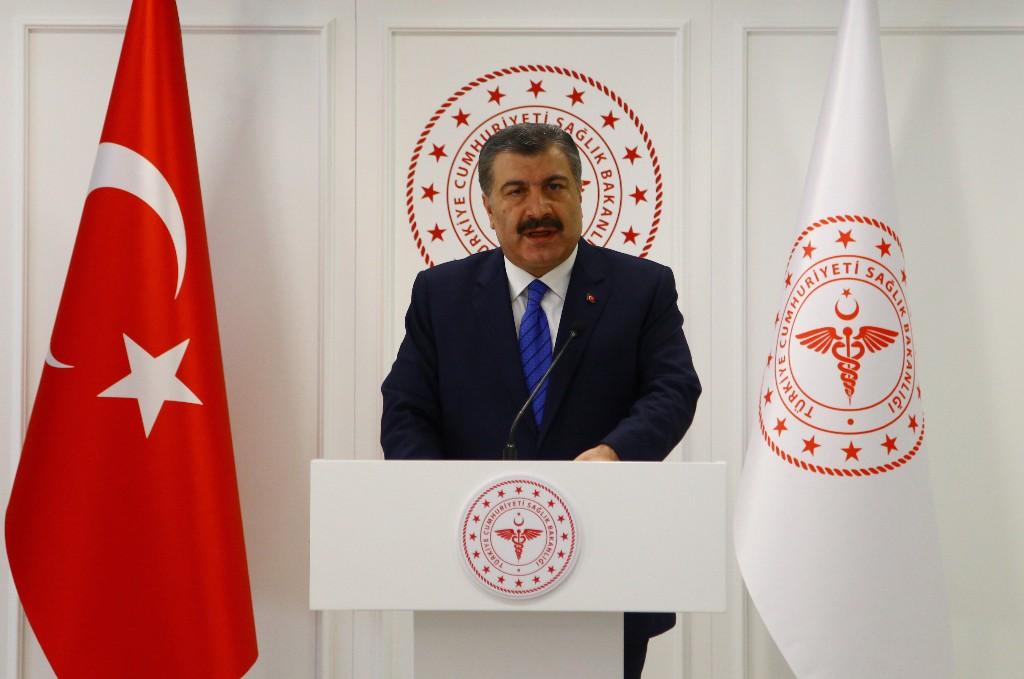 وزير الصحة التركي: انتشار كورونا يتسارع من جديد في البلاد