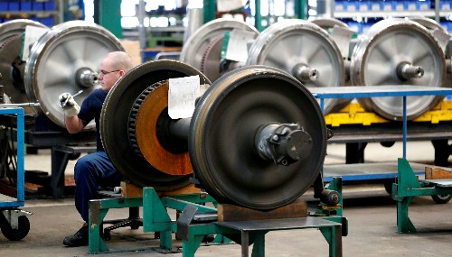 Euro zone industrial output rises more than expected in May