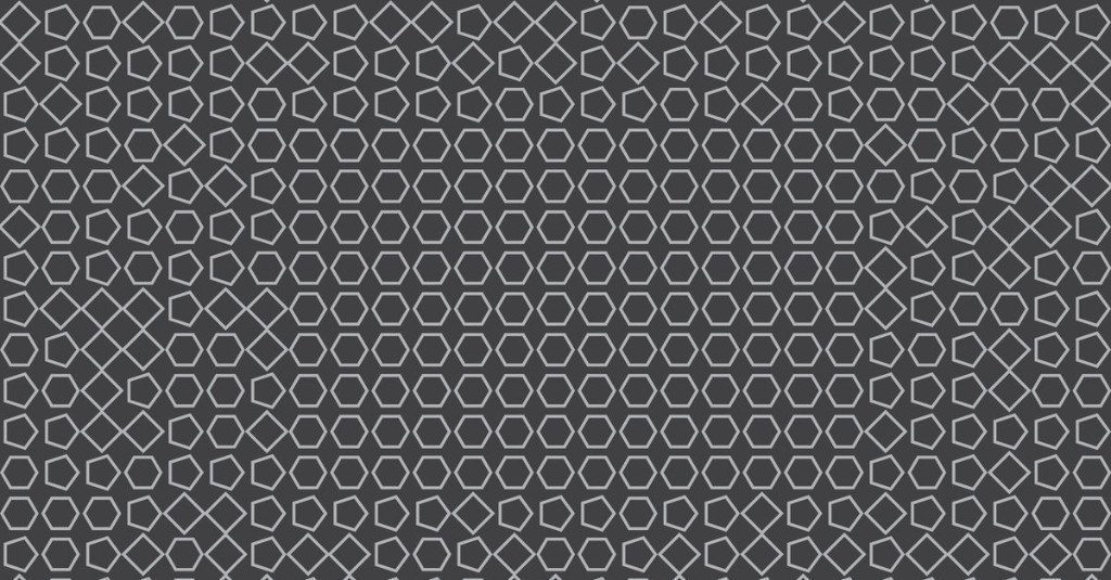 This pattern changes as it gets closer to your face