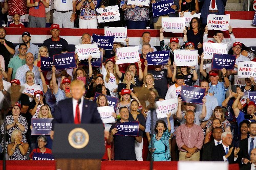 Trump campaign seeks to mobilize women in 2020 battleground states