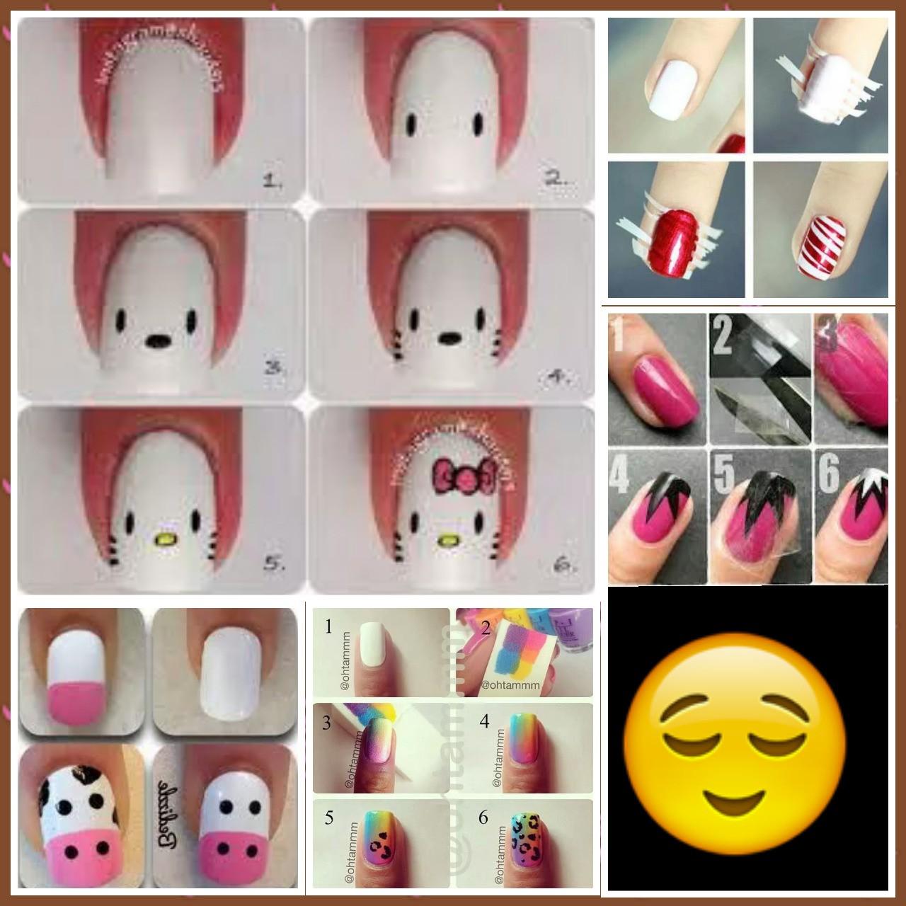 Decoren sus uñas.......con sus amigas en una pijamada.......cada quien su estilo Aki les dejo una serie de distintos diseños de uñas! !!!!!!