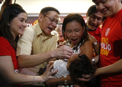 Philippines confirms 2nd polio case after declaring outbreak