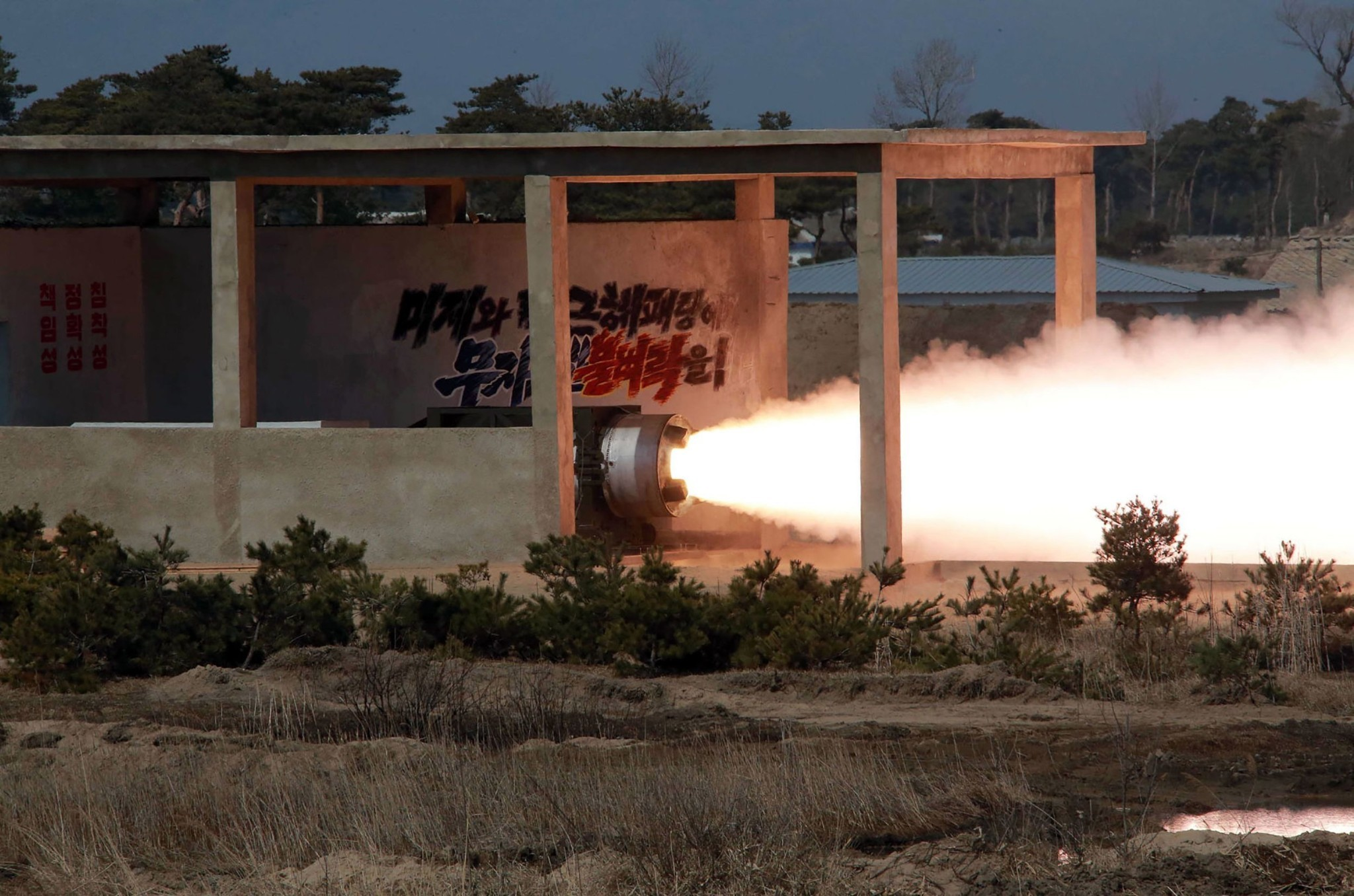 North Korea claims it tested solid-fuel rocket, a big step in nuclear arms program
