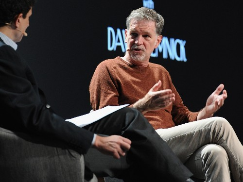 Netflix CEO Reed Hastings explains why he was initially an ineffective leader at his first company