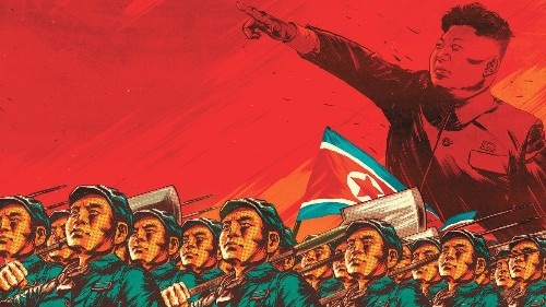 Nordkorea,  North Korea,  DPRK - Magazine cover