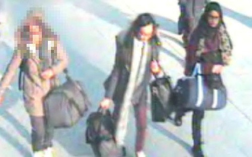 Three missing London schoolgirls 'travelling to Syria to join Isil'